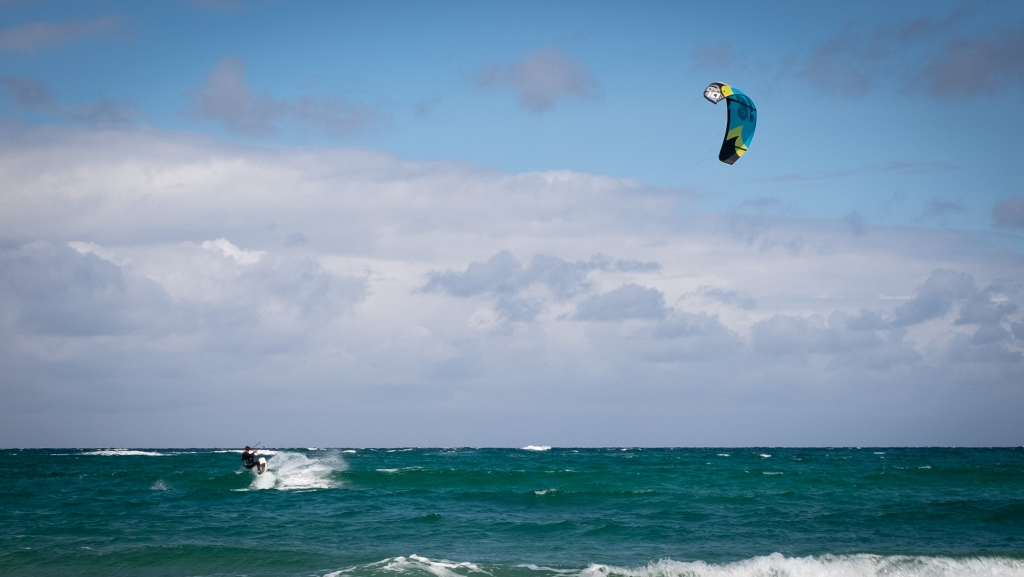 When the stars align and the wind is right, you can also kite surf in Vorupør.